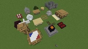 Быстрая постройка в Minecraft