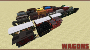 Новый вид транспорта в Minecraft