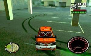 Автомобиль со спидометром