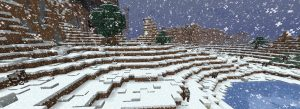Новогодний период в Minecraft