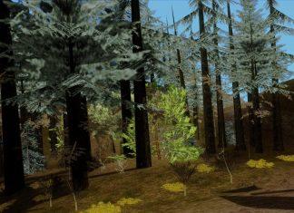 Измененный лес