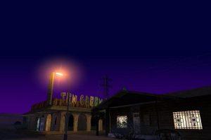 Городок ночью