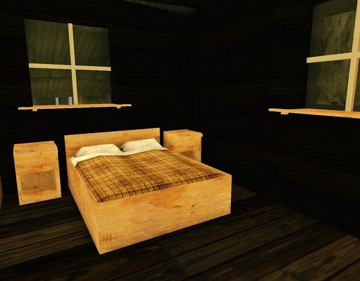 Кровать CJ в спальне