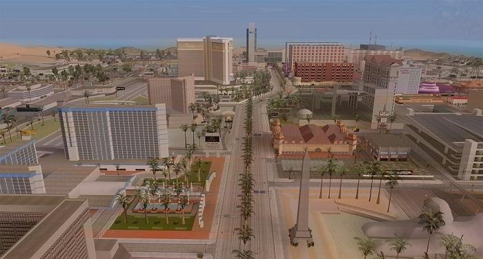 Вид на Лас-Вентурас