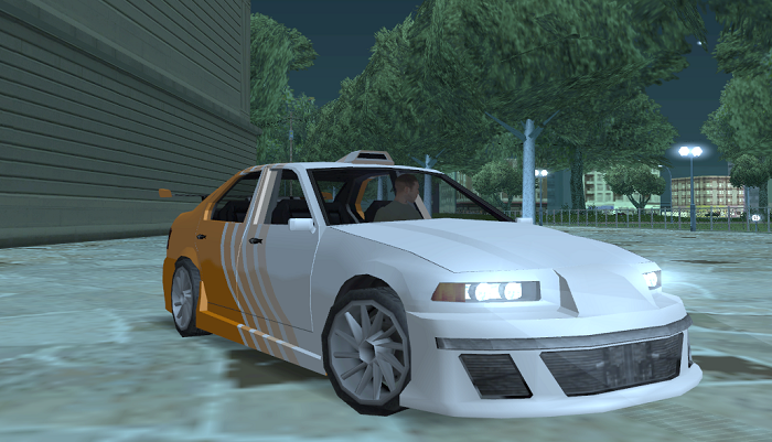 Один из вариантов цвета корпуса BMW