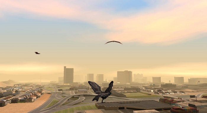 Полет над Las-Venturas