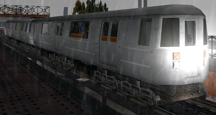 Поезд из GTA United