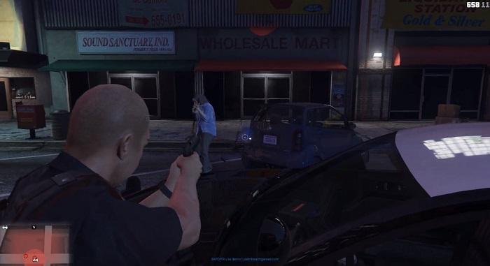 Преступники обозначаются на радаре красными точками