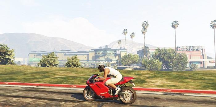 Скрипт работает на мотоциклах