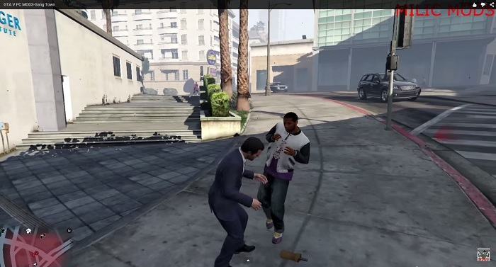Борьба с другим гангстером