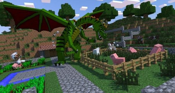 скачать мод на приручение эндер дракона