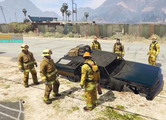 Бригада пожарных