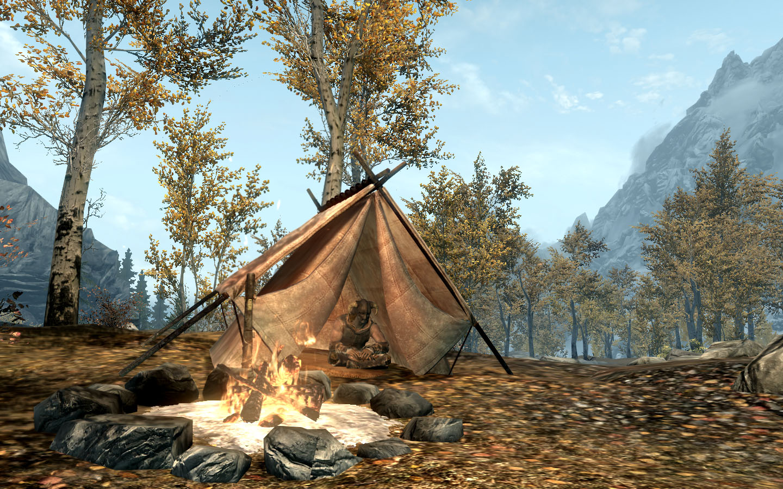 Campfire skyrim rus скачать