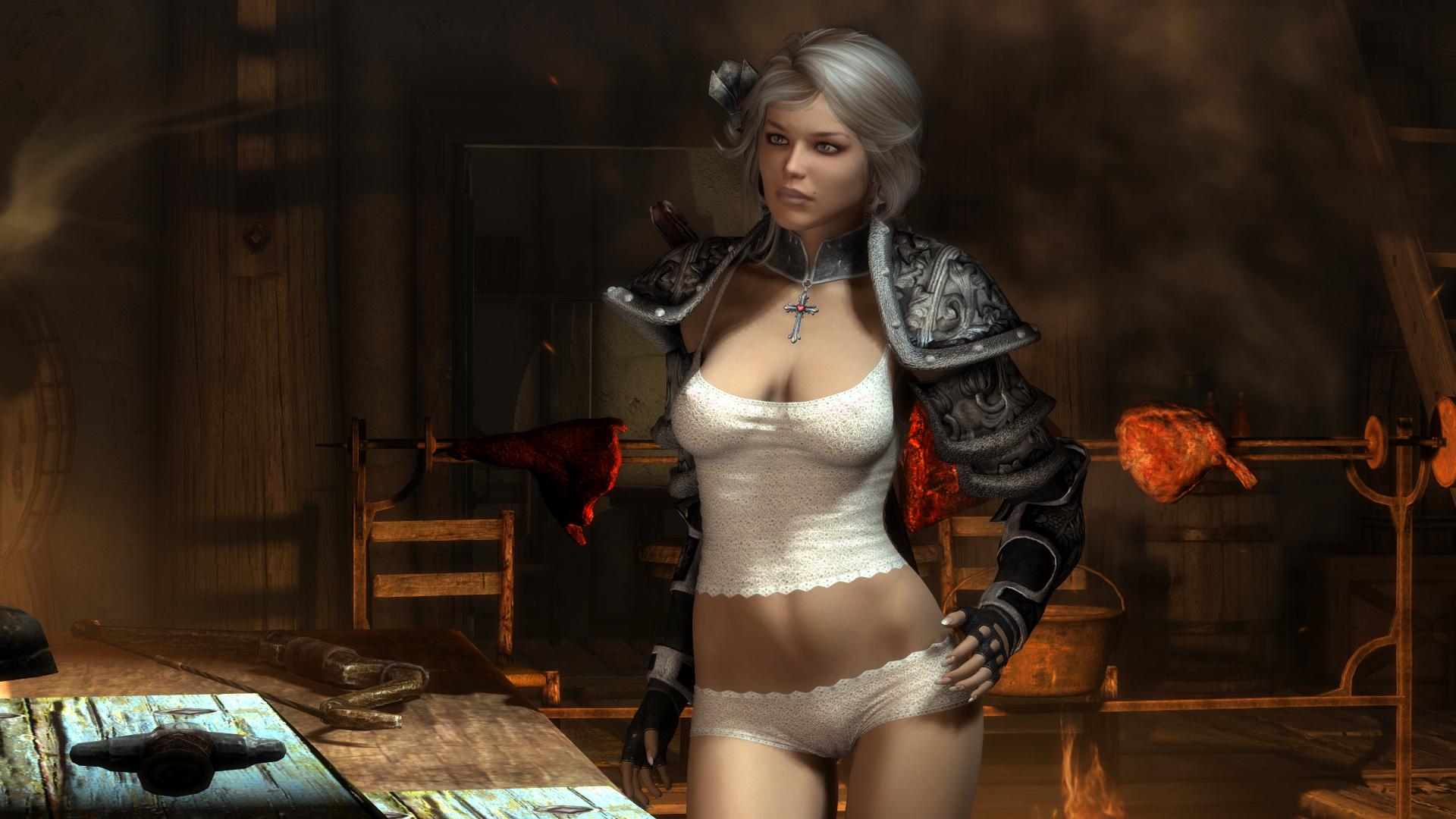 Skyrim SE: Demonica Lilith & Eva
