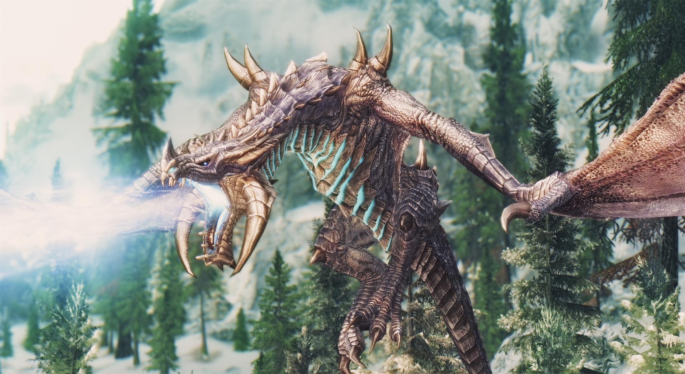 Skyrim SE: Diverse Dragons Collection