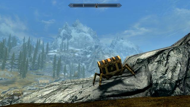 Skyrim SE: Двемерский сундук-паук