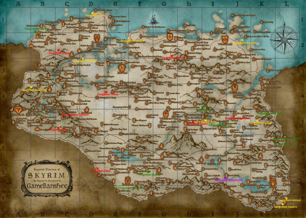 Skyrim SE: Забытые подземелья / Forgotten Dungeons