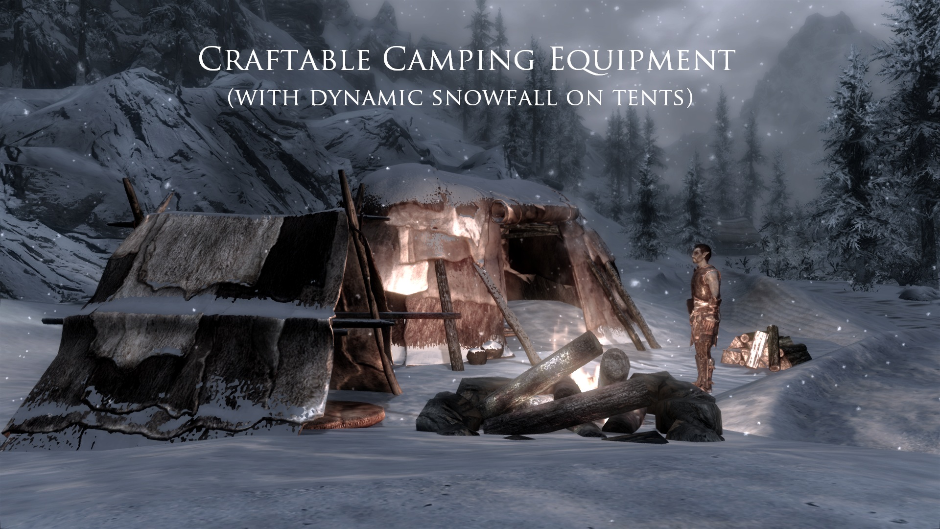 Skyrim SE: Frostfall - Hypothermia Camping Survival