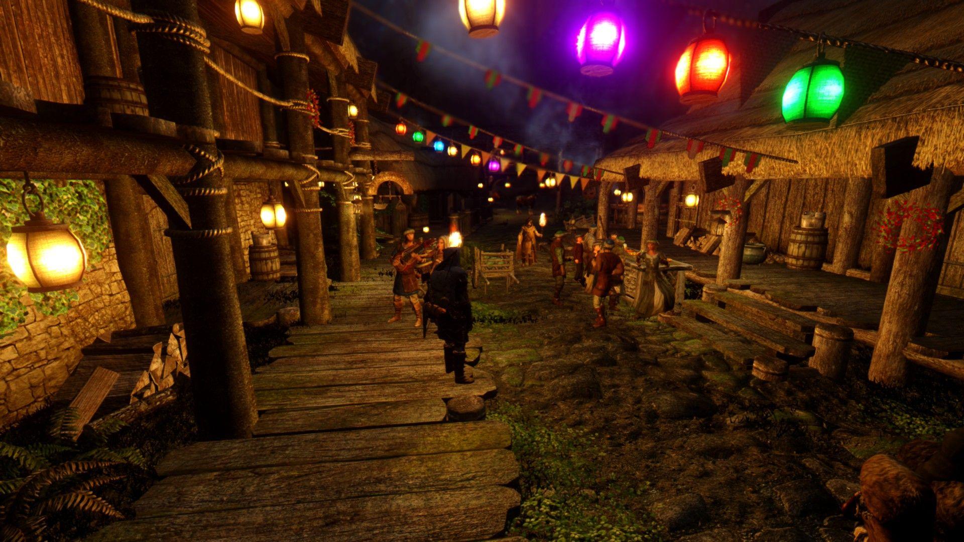 Skyrim SE: Праздники Скайрима / Holidays