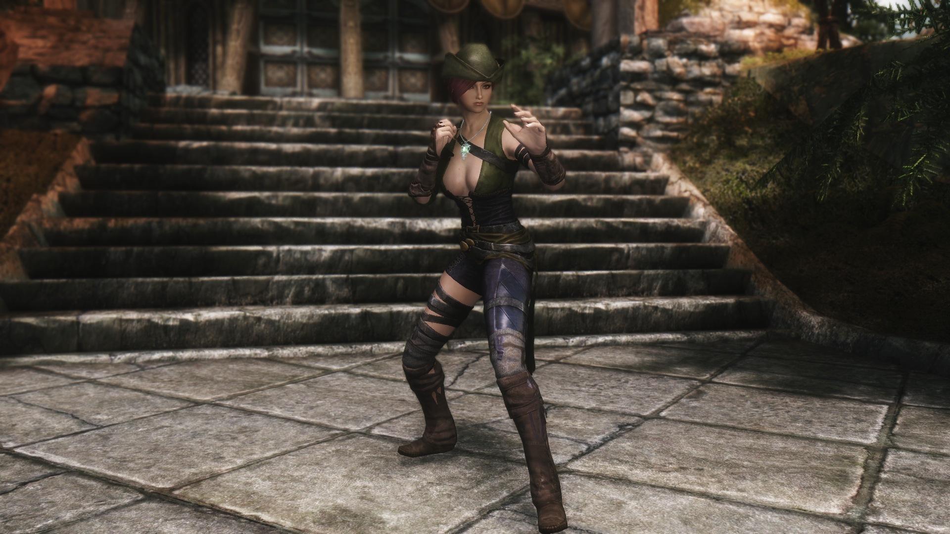 Skyrim SE: Новые стойки с оружием