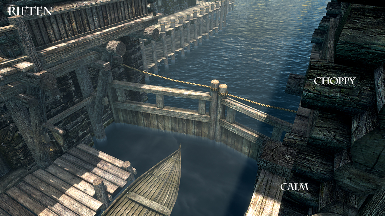 Skyrim SE: Realistic Water Two