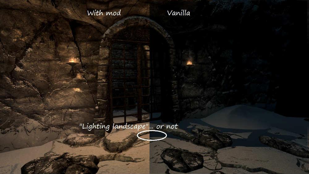 Skyrim SE: Освещение Скайрима / Relighting Skyrim