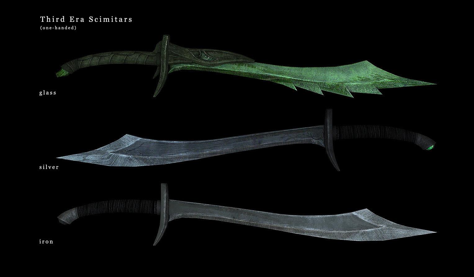 Skyrim SE: Оружие третьей эры