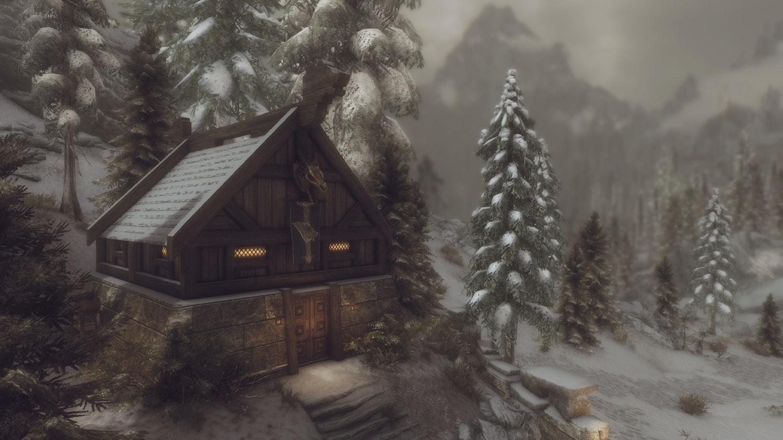 Skyrim SE: Раута - дом для воина
