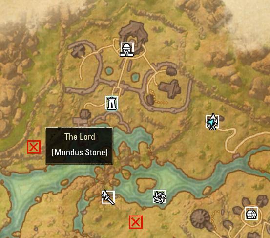 Отображение точек интереса на карте локации
