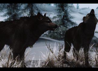 true wolves of skyrim