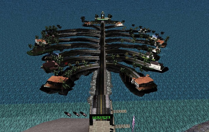 Прототип острова очень похож на арабский оригинал