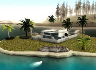 На острове есть множество пальм