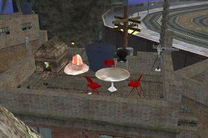 Обставленные мебелью крыши могут подойти для создания тематических миссий