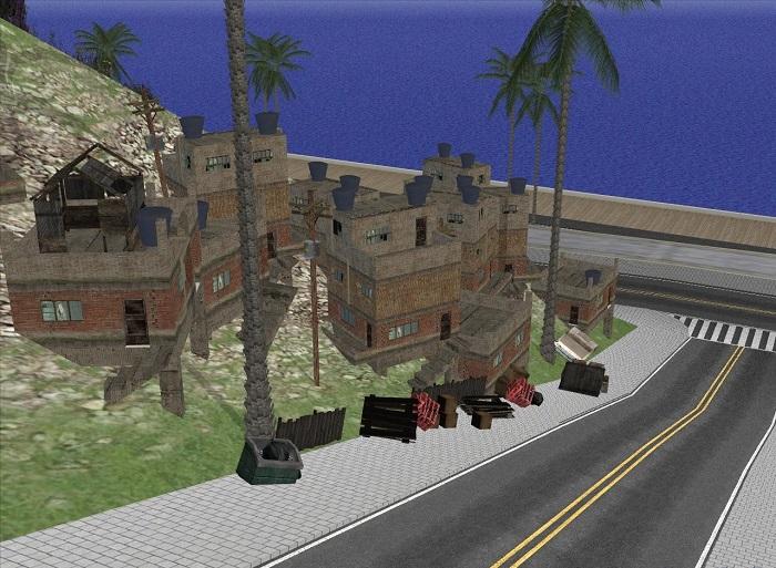 По скриншоту можно увидеть точное местоположение городка