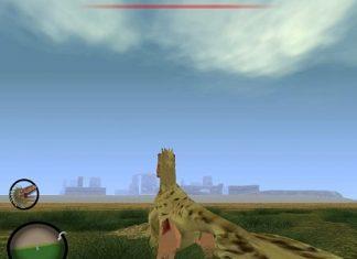 Cretaceous Runner - главный герой и место событий
