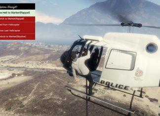"""Пассажир, """"выходящий"""" из вертолета"""