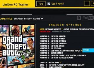 Скриншот трейнера