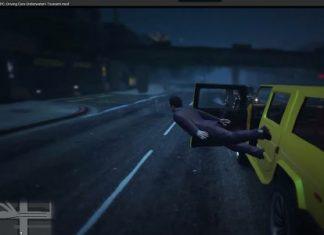 Игрок, вышедший из машины