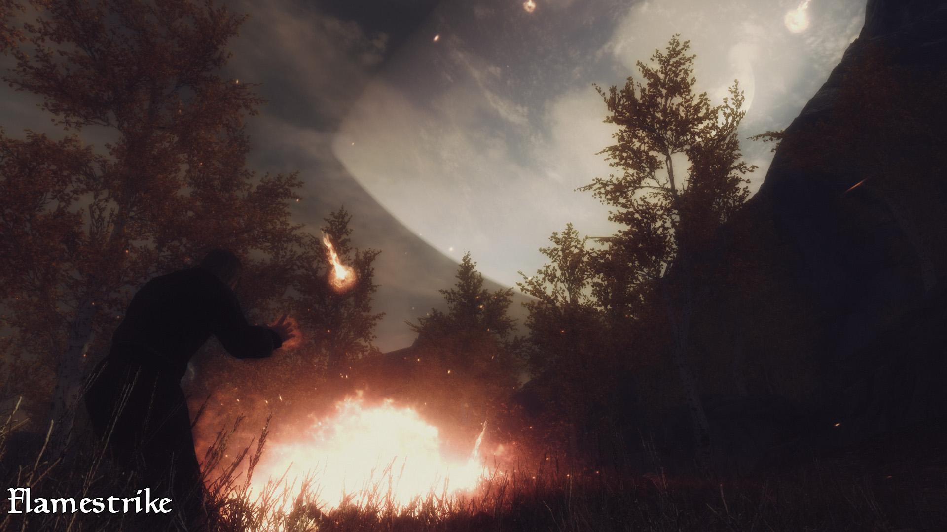 Skyrim SE: Апокалипсис - магия Скайрима