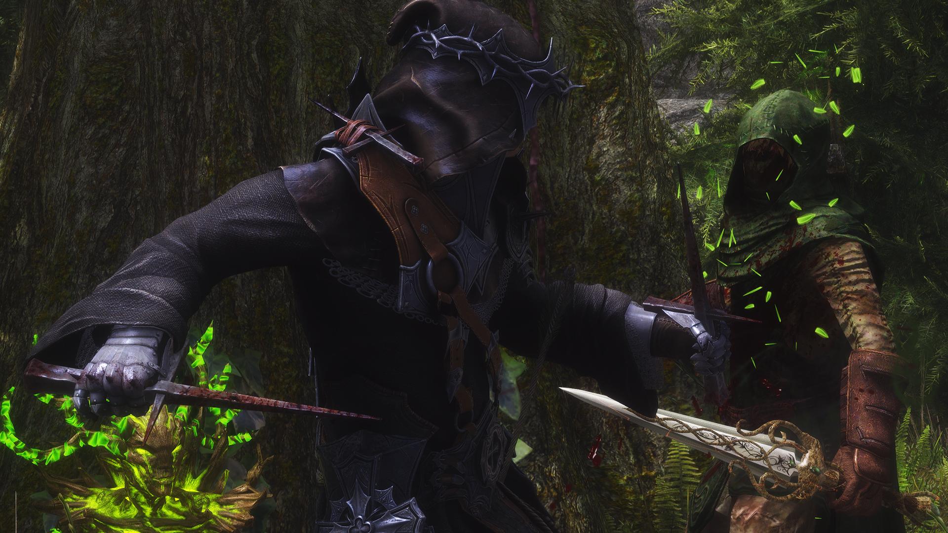 Skyrim SE: Броня и оружие Короля-Крестоносца