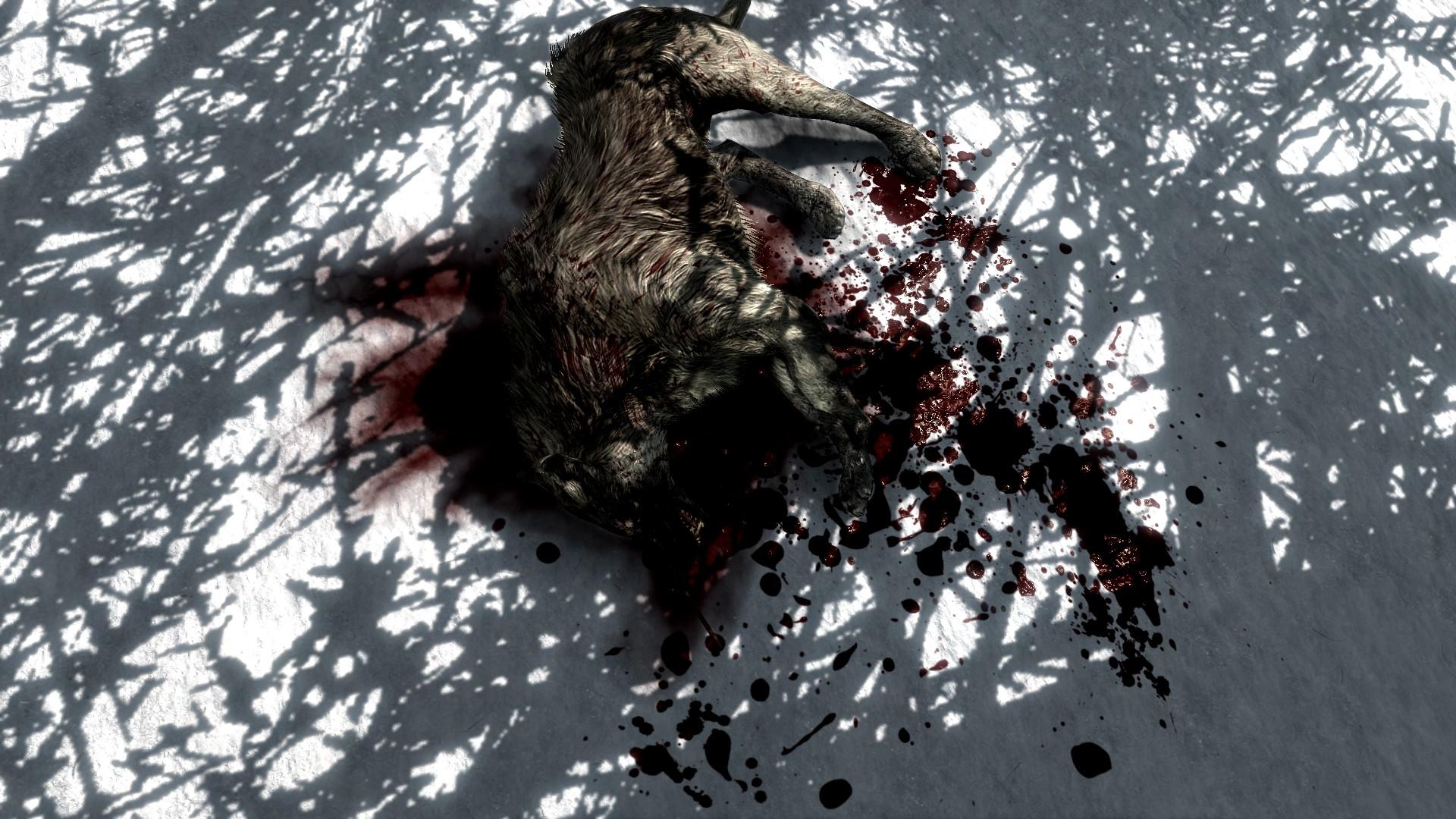 Skyrim SE: Enhanced Blood Textures