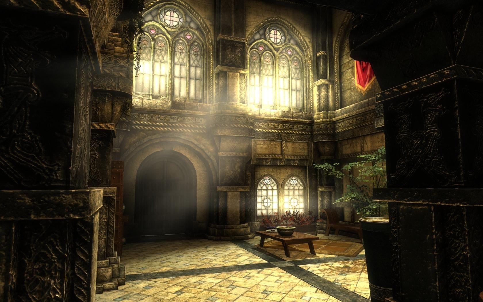 Skyrim SE: Улучшенное освещение и эффекты