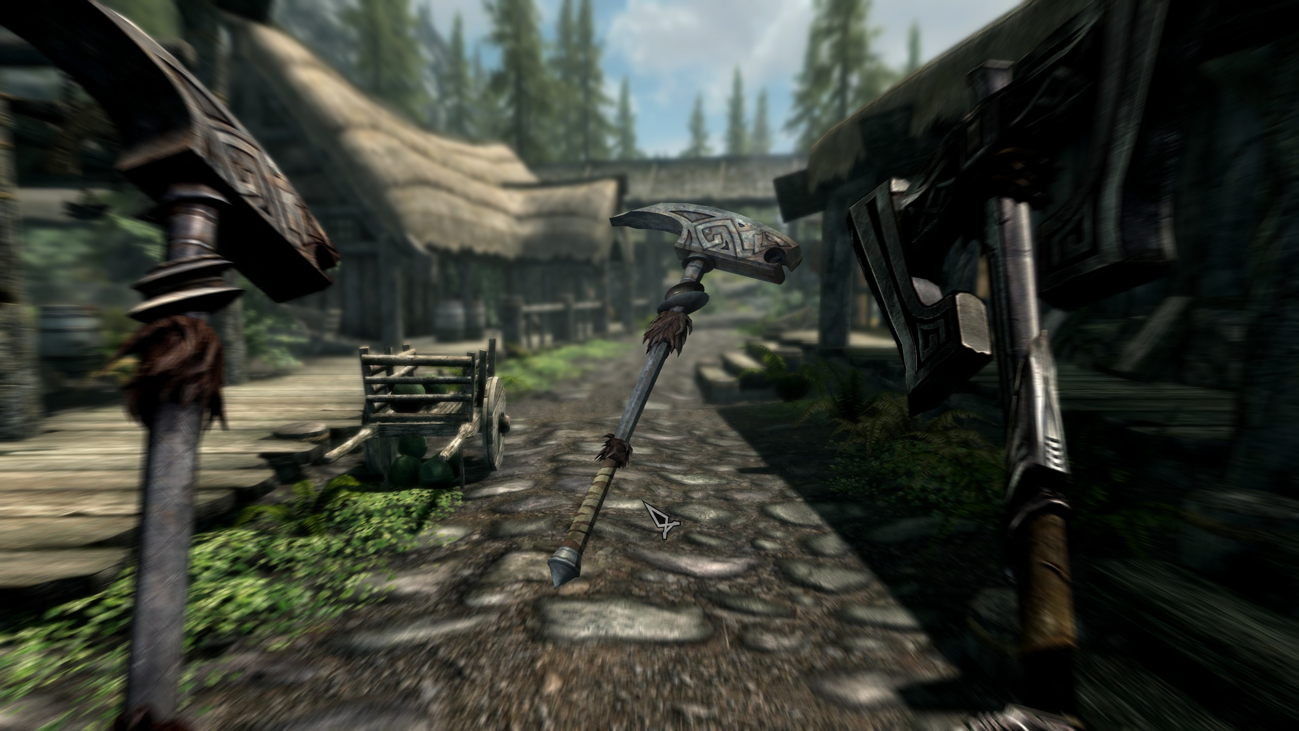 Skyrim SE: Расширение оружия Скайрима